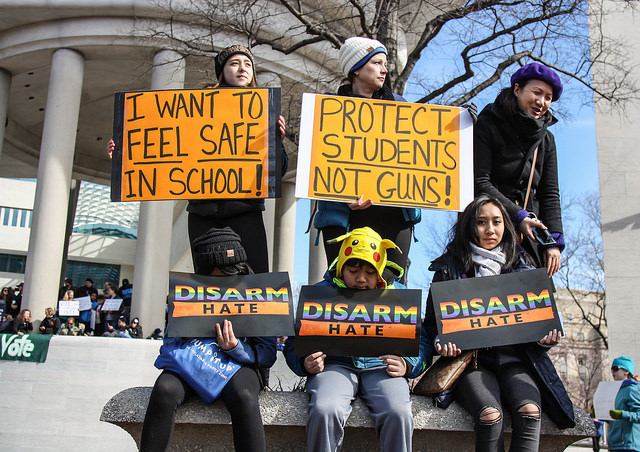 Students rally to end gun violence in March for Our Lives