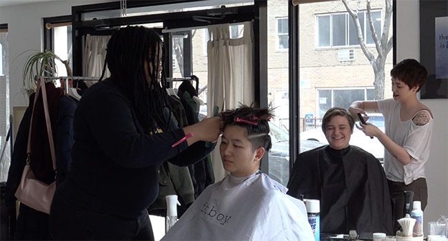 A barbershop in Brooklyn that cuts hair outside the gender binary