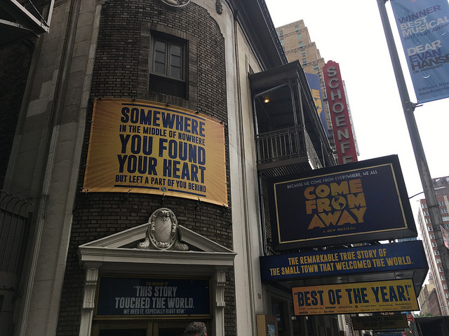 "Remembering 9/11 at ""Come From Away"""