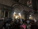 Hurricane Maria remembered through vigil and protest