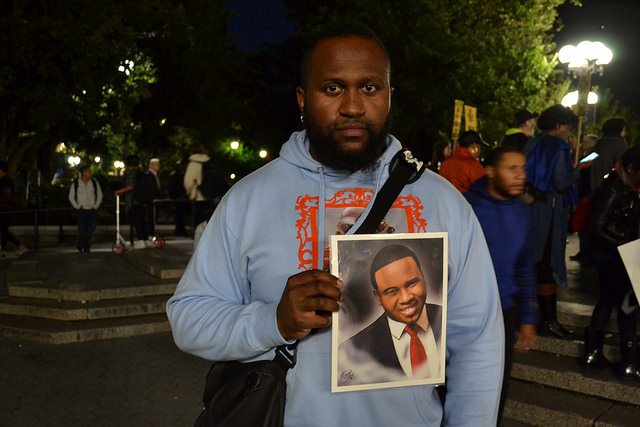 Protesters march for Botham Shem Jean and against racism
