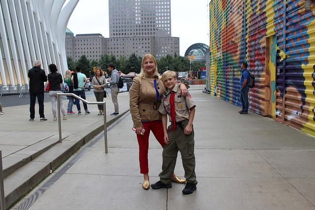 Life goes on at Ground Zero
