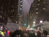 Hours after Kavanaugh confirmation, hundreds protest in NYC