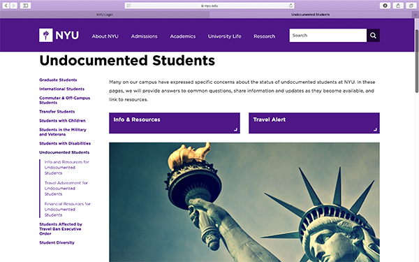 Undocumented students seek help from schools – Pavement Pieces