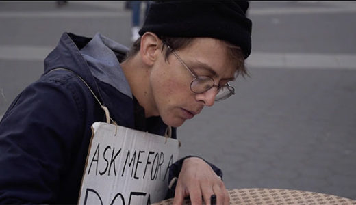 NY People: Peter Chinman, Park Poet