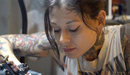 NY People: Tattoo Artist,  Kati Vaughn